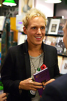 Jamie Laing at Francis Boulle's Book Launch