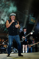 Australian rock band AC/DC performs a concert on their Black Ice tour, Friday, Jan. 9, 2009, at the Rogers Centre in Toronto. (Arthur Mola/pressphotointl.com)
