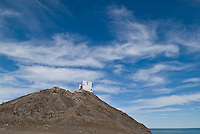 Small chapple on top of hill, San Felipe, Baja California, Mexico