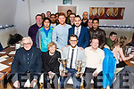 County Kerry Cricket Club Christmas Awards Night at La Scala's on Saturday