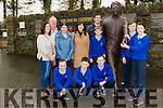 Raheen NS parents association will be presenting Donal Courtney one man play of Monsignor Hugh O''Flaherty God Has No Country on the 3rd February to help raise funds for a Community defibilator front Eimer Cronin, front rowl-r: Danielle O'Shea, Evan Looney, Amy McCarthy, Dylan Roche, back row: Mary  Cronin, Patrick Doyle, Michelle Warren, Joan Mullane, Eugene Bowler and Tadhg Quinn