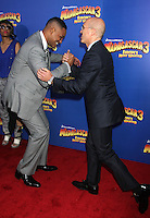 Jeffrey Katzenberg and Will Smith at the NY premiere of Madagascar 3: Europe's Most Wanted at the Ziegfeld Theatre in New York City. June 7, 2012. © RW/MediaPunch Inc.