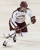 Patrick Wey (BC - 6) - The Boston College Eagles tied the visiting Yale University Bulldogs 3-3 on Friday, January 4, 2013, at Kelley Rink in Conte Forum in Chestnut Hill, Massachusetts.