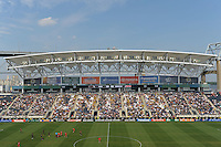 PPL Park. The Philadelphia Union defeated Toronto FC 2-1 on a second half stoppage time goal during a Major League Soccer (MLS) match at PPL Park in Chester, PA, on July 17, 2010.