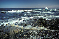 Rocky shore, Appledore Island, Isles of Shoals, Maine. Photograph by Peter E. Randall