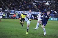 VOETBAL: HEERENVEEN: Abe Lenstra Stadion, 07-02-2015, Eredivisie, sc Heerenveen - PEC Zwolle, Eindstand: 4-0, Stefano Marzo (#6), ©foto Martin de Jong