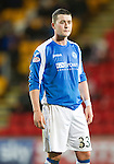 St Johnstone v Hearts..15.12.12      SPL.Tam Scobbie.Picture by Graeme Hart..Copyright Perthshire Picture Agency.Tel: 01738 623350  Mobile: 07990 594431