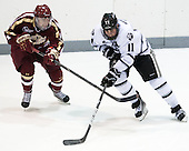 Teddy Doherty (BC - 4), Tim Schaller (PC - 11) - The Providence College Friars tied the visiting Boston College Eagles 3-3 on Friday, December 7, 2012, at Schneider Arena in Providence, Rhode Island.