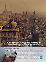 American Express, Cairo, Egypt, someone who speaks English