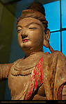 Avalokitesvara, Polychromed wood, Shanxi China 11th-12th c., British Museum, London, England, UK