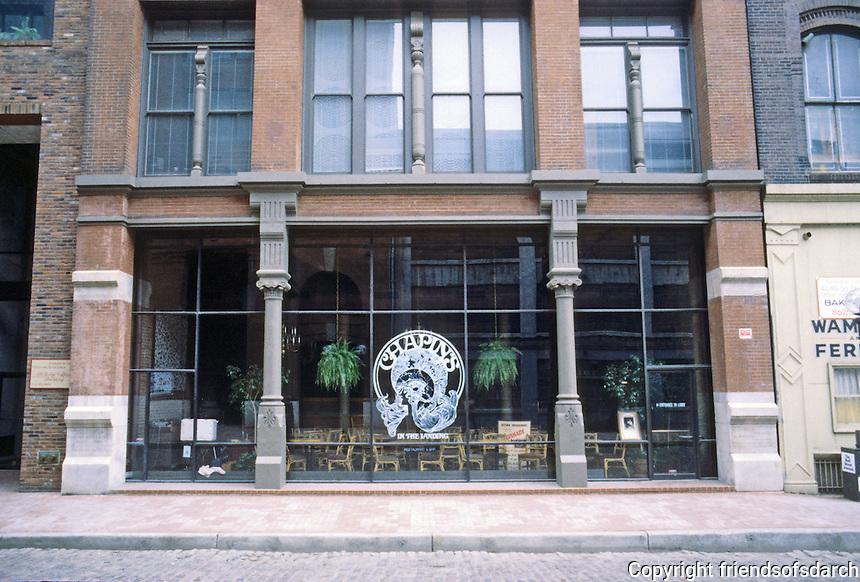 St. Louis: Laclede's Landing--Chapin's Restaurant.