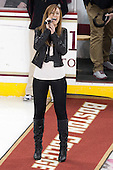 - The Boston College Eagles defeated the visiting Boston University Terriers 5-2 on Saturday, December 1, 2012, at Kelley Rink in Conte Forum in Chestnut Hill, Massachusetts.