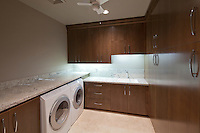 Laundry room of luxury home