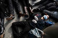 Die In - Eric Garner Protest - Harvard - Memorial Church