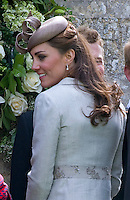 Prince William & Kate attends cousin's wedding