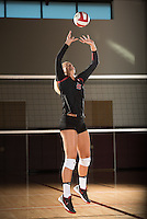 Stanford, Ca -Monday, August 8, 2016: Stanford Women's Volleyball Marketing photo shoot.
