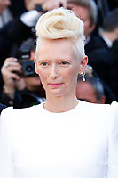 """Tilda Swinton at the """"Okja"""" premiere during the 70th Cannes Film Festival at the Palais des Festivals on May 19, 2017 in Cannes, France. (c) John Rasimus /MediaPunch ***FRANCE, SWEDEN, NORWAY, DENARK, FINLAND, USA, CZECH REPUBLIC, SOUTH AMERICA ONLY***"""