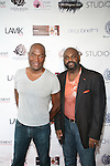 Carl Nelson and Neil Lowe Attend Edwing D'Angelo Spring Summer 2014 Presentation Held at Studio 450, NY