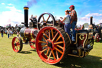 A Richard Garret and son of Leiston steam traction engines