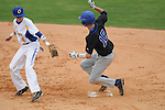 Oxford High's Dustin Williams (4) vs. Saltillo in Oxford, Miss. on Tuesday, March 29, 2011. Saltillo won 14-4.