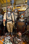 Diving Suit Maritime Museum. Arreton Barns, Isle of Wight Photographs of the Isle of Wight by photographer Patrick Eden