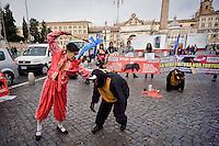 Stop Corrida, protesta degli Animalisti Italiani