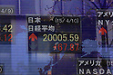Japan Nikkei tops 20,000 for first time in 15 years
