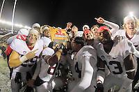 Stanford, Ca - November 19, 2016: The Cal Bears vs the Stanford Cardinal at California Memorial Stadium. Final score Cal Bears 31, Stanford Cardinal 45.