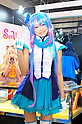 Tokyo, Japan - March 24: A model posed at Tokyo International Anime Fair at Tokyo Big Sight, Koto, Tokyo, Japan on March 24, 2012. The fair was the largest animation exhibition in the world, and 216 companies had their booths to show their products.