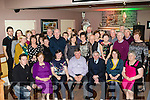 Birthday<br /> -----------<br /> Denis Brosnan, Ballymac, seated centre, had a great night in O'Riada's bar Ballymac celebrating his 70th birthday along with many friends and family.