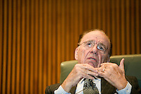 8 February 2007 - New York City, NY - Rupert Murdoch, Chairman and Chief Executive of News Corporation, speaks at the 2007 Media Summit in New York City, USA, 8 February 2007.