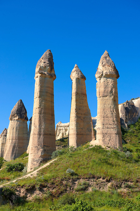 The Fairy Chimneys of Love Valley - Cappadocia Turkey