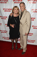 """HOLLYWOOD, CA - AUGUST 18:  Charlotte McKenna, Johnny Crawford at """"Child Stars - Then and Now"""" Exhibit Opening at the Hollywood Museum on August 18, 2016 in Hollywood, California. Credit: David Edwards/MediaPunch"""
