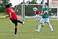 Soccer game Mike Rose Complex Memphis TN
