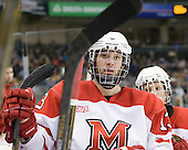 Trent Vogelhuber (Miami - 13) - The University of New Hampshire Wildcats defeated the Miami University RedHawks 3-1 (EN) in their NCAA Northeast Regional Semi-Final on Saturday, March 26, 2011, at Verizon Wireless Arena in Manchester, New Hampshire.