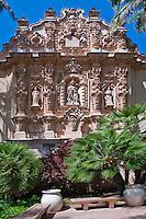 Casa del Prado, building, Architectural, detail, design, Balboa Park, San Diego, Ca