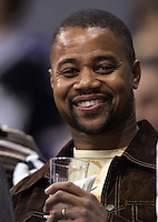 6 October 2005: Celebrity actor Cuba Gooding Jr. NHL Fans at opening night at the Staples Center in Los Angeles, CA. Olympic   Athlete.