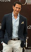 Sacha Roiz attends 'Grimm' Photocall - 54th Monte-Carlo TV Festival - Monaco