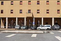 Colleferro.Caserma dei carabinieri.