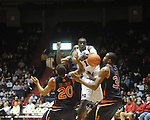 Ole Miss' Eniel Polynice vs. Auburn in Oxford, Miss. on Wednesday, February 24, 2010. Ole Miss won 85-75.