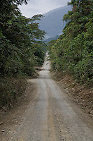 The Interoceanic Highway approaching Quincemil at the edge of the Amazon