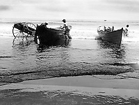 North East PA:  First Lake Erie vacation after Brady Stewart served his country during World War 1.  Stewart family rented a cabin on Lake Erie near North East.  .During a early morning walk on the beach, Brady Stewart took a photograph of fishermen tranferring fish to a wagon - 1919