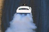 Jun 18, 2016; Bristol, TN, USA; NHRA pro mod driver Chip King during qualifying for the Thunder Valley Nationals at Bristol Dragway. Mandatory Credit: Mark J. Rebilas-USA TODAY Sports
