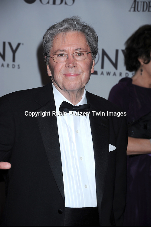 Brian Bedford attending the 65th Annual Tony Awards at the Beacon Theatre in New York City on June 12, 2011.