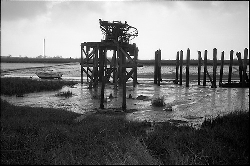 Old Jetty, Alresford Creek by Paul Cooklin