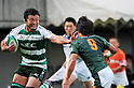 Ryota Asano (Green Rockets), November 12, 2011 - Rugby : Japan Rugby Top League 2011-2012, 3rd Sec match between NEC Green Rockets 29-26 TOYOTA Verblitz at Chichibunomiya Rugby Stadium, Tokyo, Japan. (Photo by Jun Tsukida/AFLO SPORT) [0003]