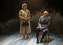 London, UK. 02.10.2012. A LIFE, by Hugh Leonard, directed by Eleanor Rhode, opens at the Finborough Theatre. Picture shows: Judith Coke (Dolly) and Hugh Ross (Drumm). Photo credit: Jane Hobson