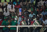 Nigeria Fans. Spain defeated the U.S. Under-17 Men National Team  2-1 at Sani Abacha Stadium in Kano, Nigeria on October 26, 2009.