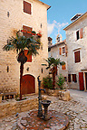 Square in Kotor Montenegro - stock photos