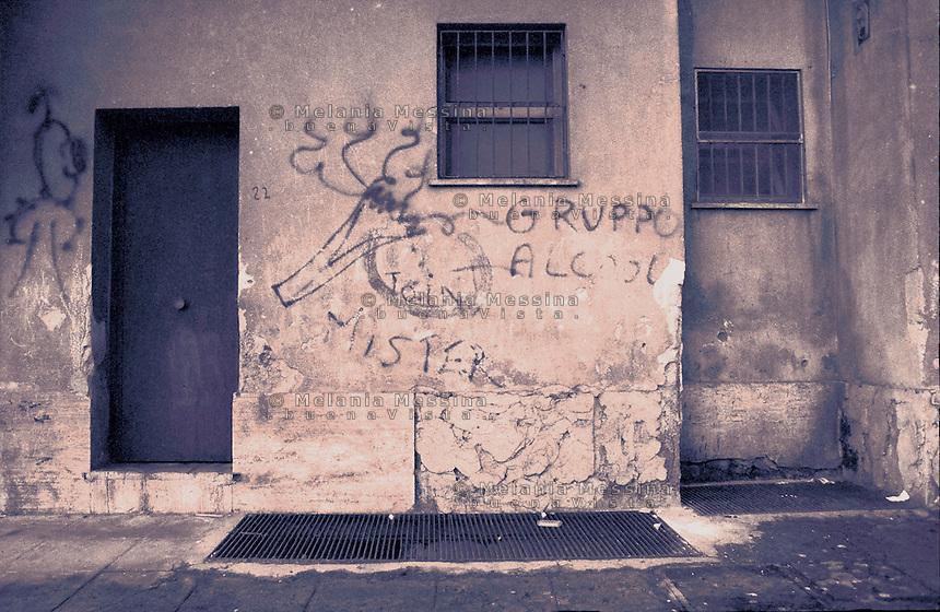 The ZEN ( which stands for expanded Northern area) is one of the most economically deprived suburb of the city.<br /> Il quartere Zen (zona espansione nord) di Palermo &egrave; una delle aree pi&ugrave; degradate della citt&agrave;.